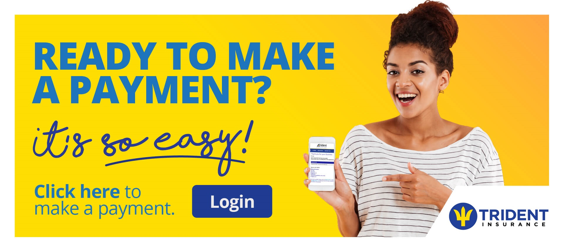 Trident Insurance - Make a Payment